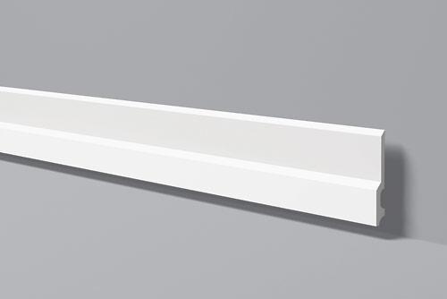 Плинтус напольный под покраску NMC FD22 клей в подарок