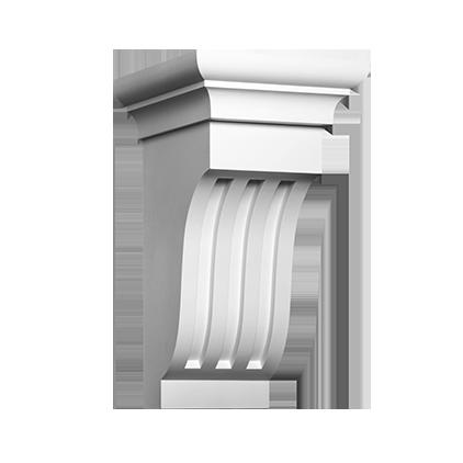 Декоративный элемент под покраску Evroplast 1.19.013