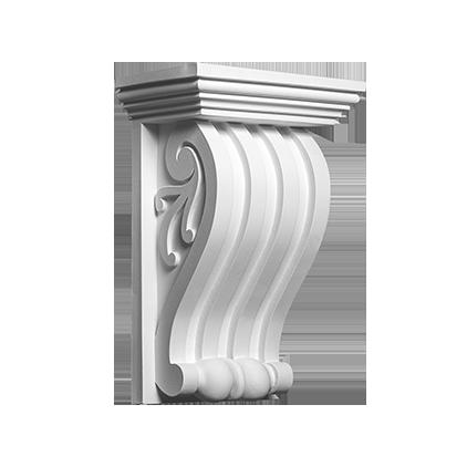 Декоративный элемент под покраску Evroplast 1.19.017