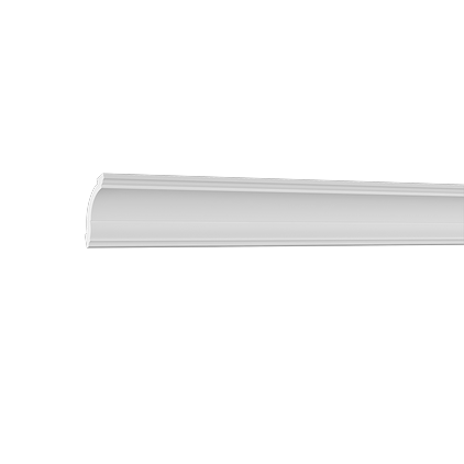 Карниз потолочный под покраску Evroplast 6.50.101