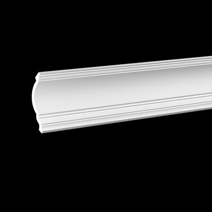 Карниз потолочный под покраску Evroplast 1.50.108 клей в подарок