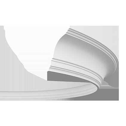 Карниз потолочный гибкий под покраску Evroplast 1.50.108 гибкий
