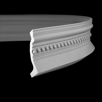 Карниз под покраску гибкий Evroplast 1.50.153 гибкий