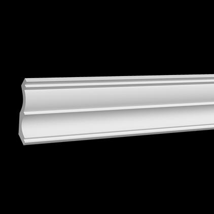 Карниз потолочный под покраску Evroplast 1.50.161 клей в подарок