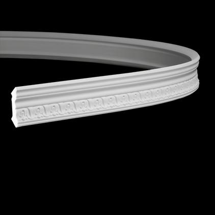 Карниз под покраску гибкий Evroplast 1.50.187 гибкий