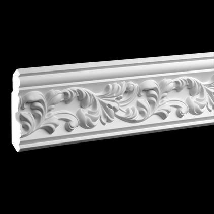 Карниз потолочный под покраску Evroplast 1.50.189