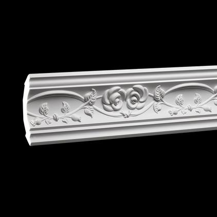 Карниз потолочный под покраску Evroplast 1.50.205