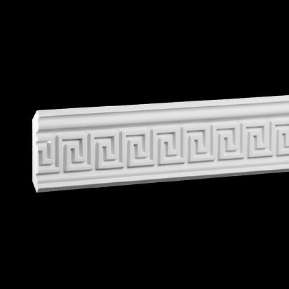Карниз потолочный под покраску Evroplast 1.50.207 клей в подарок
