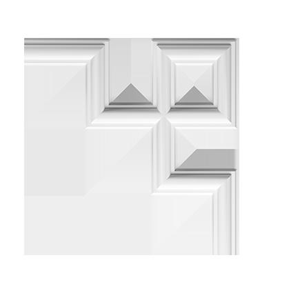 Угловой элемент под покраску Evroplast 1.52.286