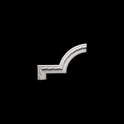 Угловой элемент под покраску Evroplast 1.52.314