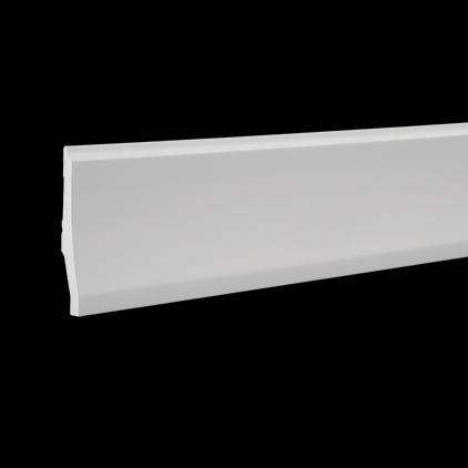 Плинтус напольный под покраску Evroplast 6.53.104 клей в подарок