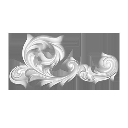 Орнамент под покраску Evroplast 1.60.123