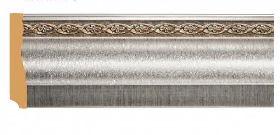 Плинтус напольный с орнаментом Decomaster 153-55