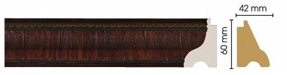 Плинтус напольный (Престиж) Decomaster 175-2