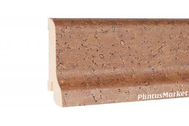 Плинтус шпонированный Pedross 6022 Пробка коричневая