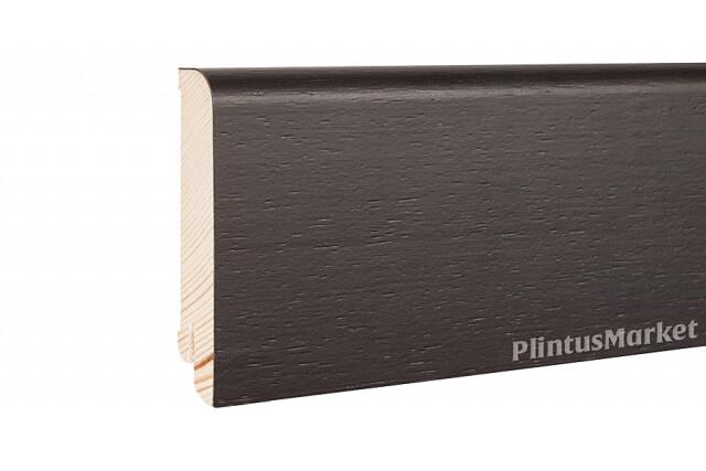 Плинтус шпонированный Pedross 8018 Дуб Черный