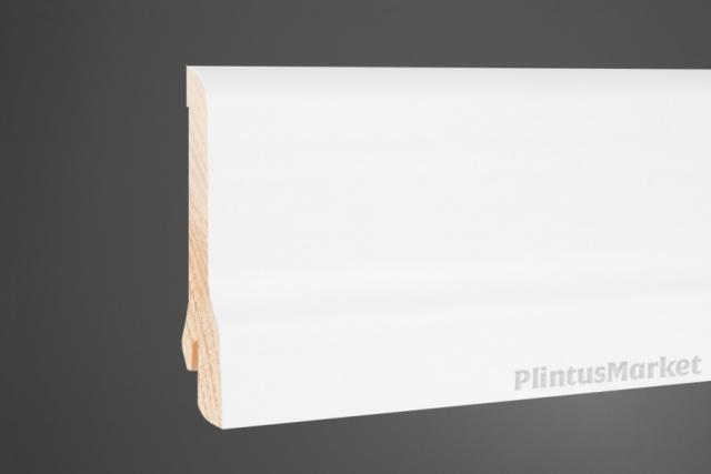 Плинтус сосна белый Perfect 8020