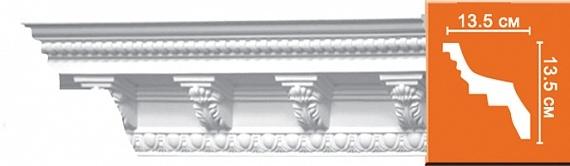 Карниз с орнаментом под покраску Decomaster 95308