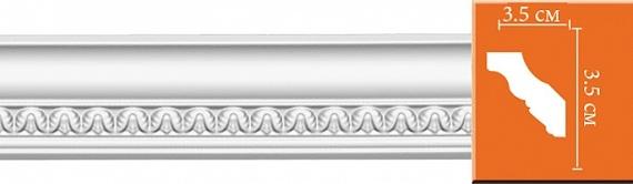 Карниз с орнаментом под покраску Decomaster 95348