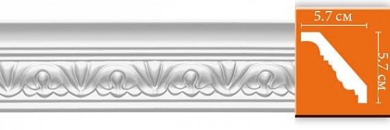 Карниз с орнаментом под покраску Decomaster 95609F