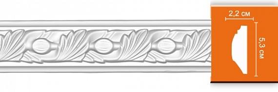 Молдинг с орнаментом под покраску Decomaster 98102F