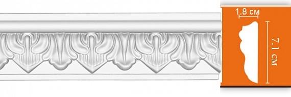 Молдинг с орнаментом под покраску Decomaster 98704F