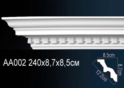 Карниз потолочный под подсветку Perfect AA002 клей в подарок