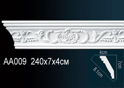Карниз с орнаментом  Perfect AA009F клей в подарок