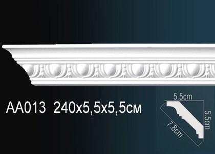 Карниз с орнаментом  Perfect AA013F клей в подарок