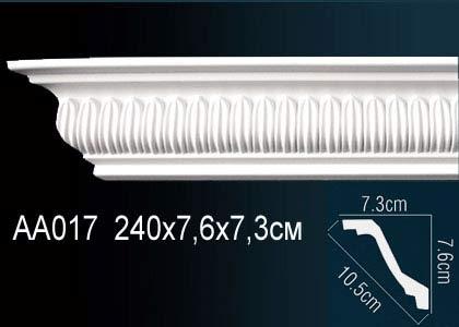 Карниз потолочный под подсветку Perfect AA017 клей в подарок