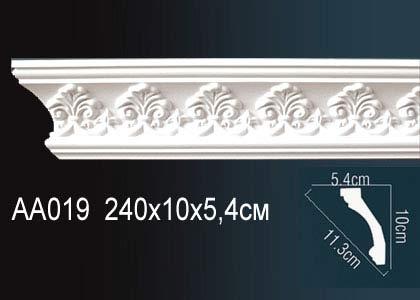 Карниз с орнаментом Perfect AA019F клей в подарок