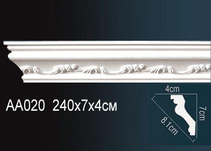 Карниз с орнаментом  Perfect AA020F клей в подарок