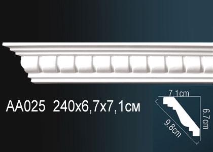 Карниз с орнаментом  Perfect AA025F
