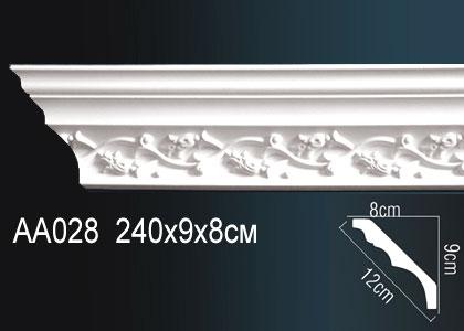 Карниз с орнаментом  Perfect AA028F