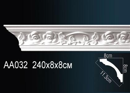 Карниз с орнаментом  Perfect AA032 клей в подарок