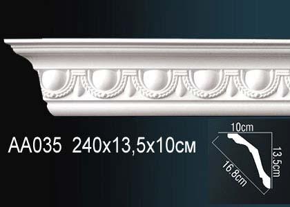 Карниз с орнаментом  Perfect AA035