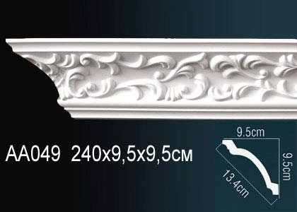 Карниз с орнаментом  Perfect AA049