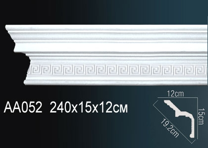 Карниз потолочный под подсветку Perfect AA052