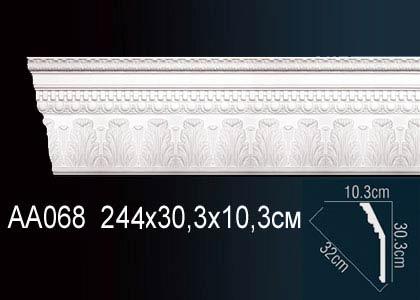 Карниз потолочный под подсветку Perfect AA068