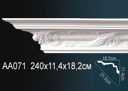 Карниз с орнаментом Perfect AA071