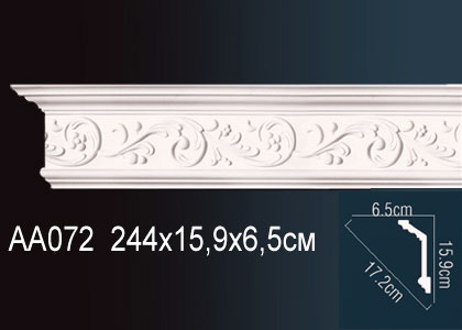 Карниз с орнаментом  Perfect AA072