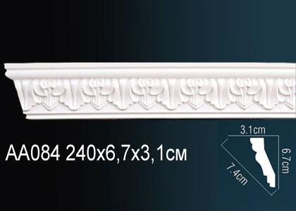 Карниз с орнаментом  Perfect AA084 клей в подарок