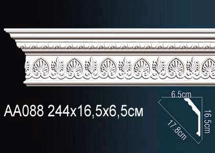 Карниз потолочный под подсветку Perfect AA088