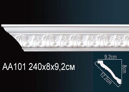 Карниз с орнаментом  Perfect AA101F