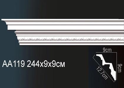Карниз потолочный под подсветку Perfect AA119