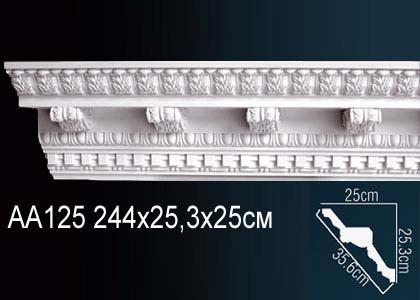 Карниз с орнаментом  Perfect AA125