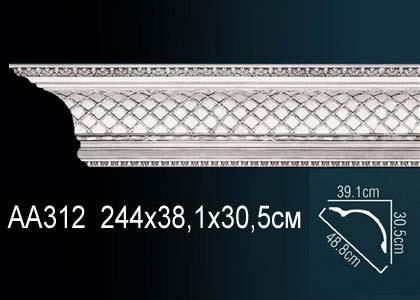 Карниз с орнаментом Perfect AA312