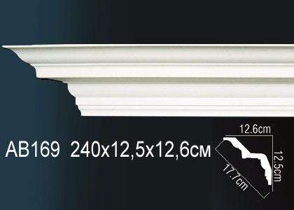 Карниз потолочный под подсветку Perfect AB169 клей в подарок