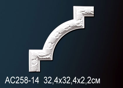 Угловой элемент Perfect AC258-14