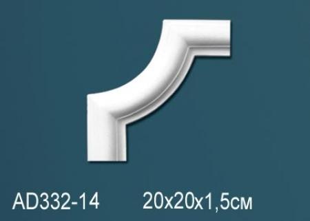 Угловой элемент Perfect AD332-14